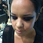 MAC Pro Event - attended by Ali and Amy Editorial shoot for Zambesi recreated.