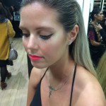 MAC Pro Event - attended by Ali and Amy. MAC blacktrack fluidline.