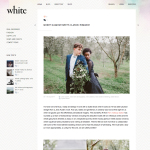 White Magazine - MOODY GLAMOUR MEETS CLASSIC ROMANCE